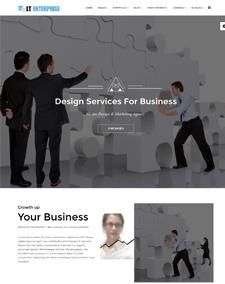 Responsive free one page joomla templates lt enterprise onepage free single page image design creative joomla template wajeb Image collections