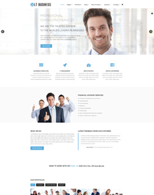 Responsive free one page joomla templates lt business onepage free one page responsive business joomla template accmission Gallery