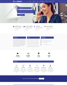 Responsive free one page joomla templates lt company onepage free corporation company onepage joomla template flashek Gallery