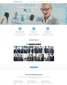 Responsive free one page joomla templates lt pro business onepage free one page responsive corporation business joomla template wajeb Gallery