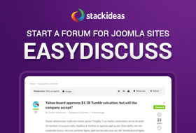 joomla forum extension