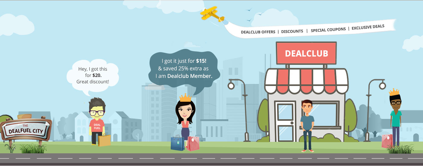DealClub Membership banner