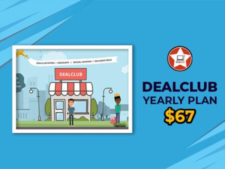 DealClub Annually membership