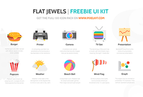 Flat Jewels PixelKit 280x190
