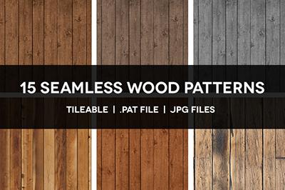 15-seamless-wood-patterns-promo