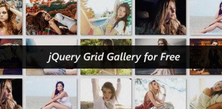 jQuery grid