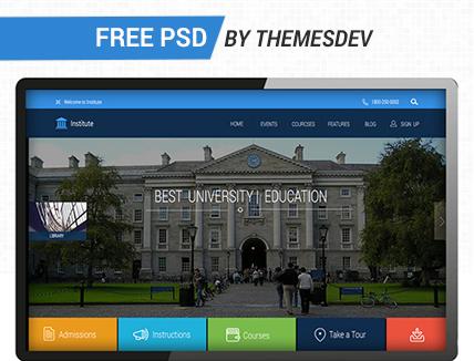 Free PSD Template