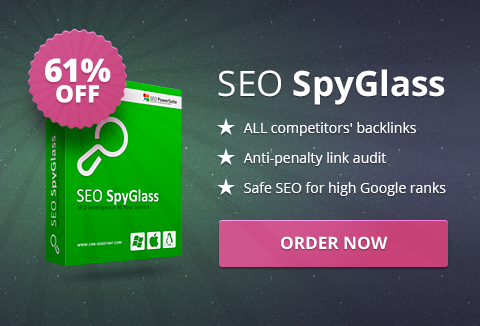 Last Day - SEO SpyGlass: Backlink Research Made Easy & Effective | DealFuel