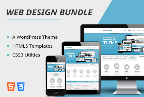 bundle of html5 templates css3 utilities a wp theme. Black Bedroom Furniture Sets. Home Design Ideas