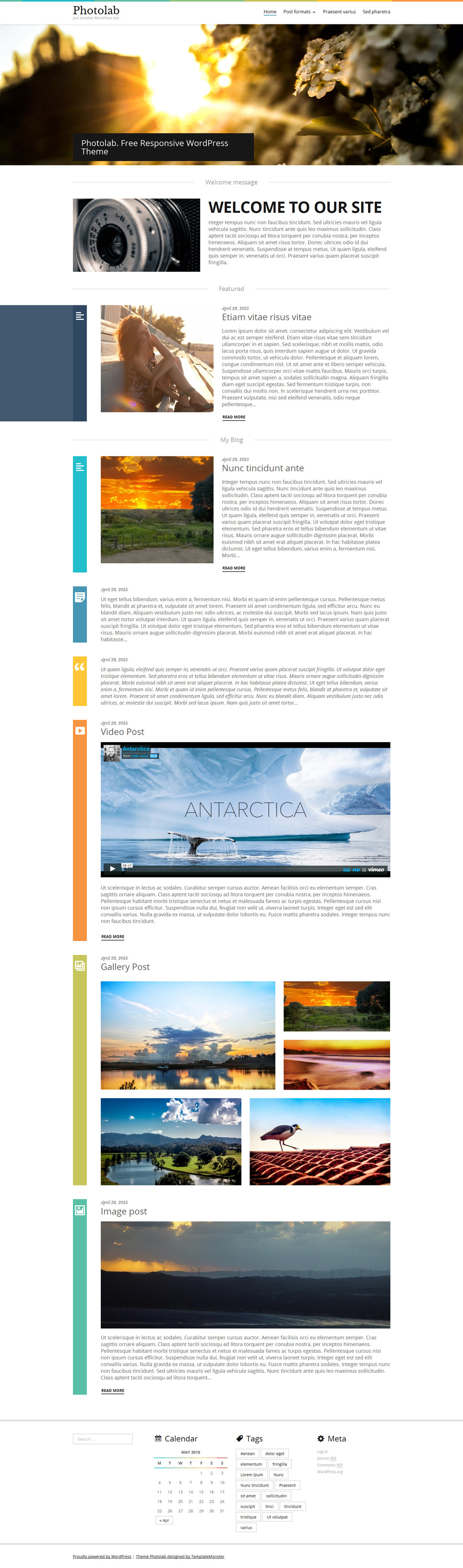 PhotoLab Responsive WordPress Theme
