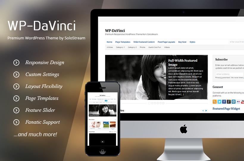 WP - DaVinci Premium WordPress Theme