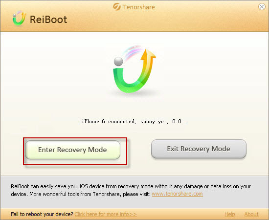 enter-recovery-mode