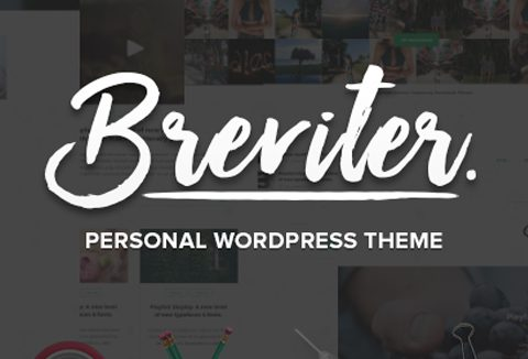 Free Handcrafted WordPress Theme