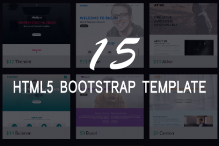 HTML5 Bootstrap Template