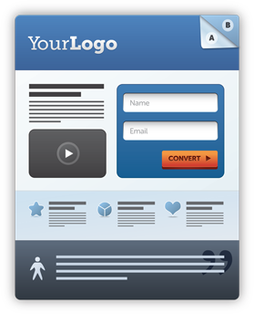 High Converting Landing page with appealing headline