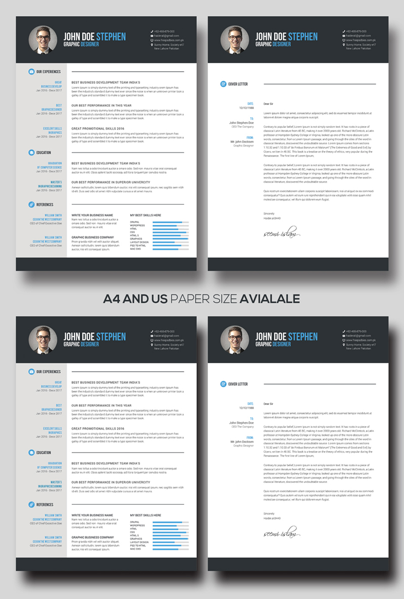 Freebie resume business card psd templates 21 21 business card psd templates wajeb Images