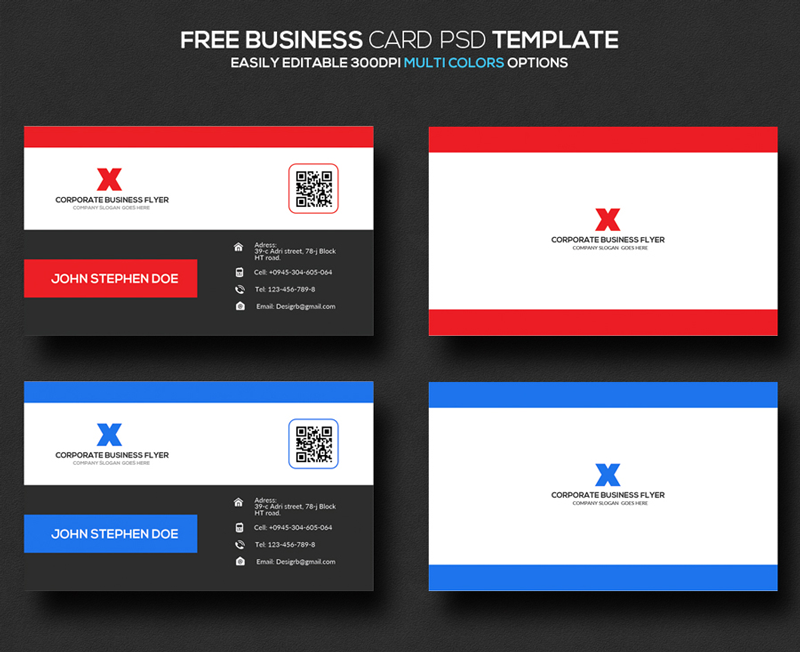 Freebie resume business card psd templates business card psd templates fbccfo Choice Image