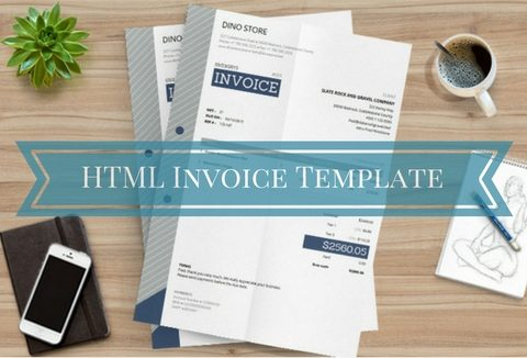 Free HTML Invoice Template With Auto Calculations DealFuel - Html invoice templates