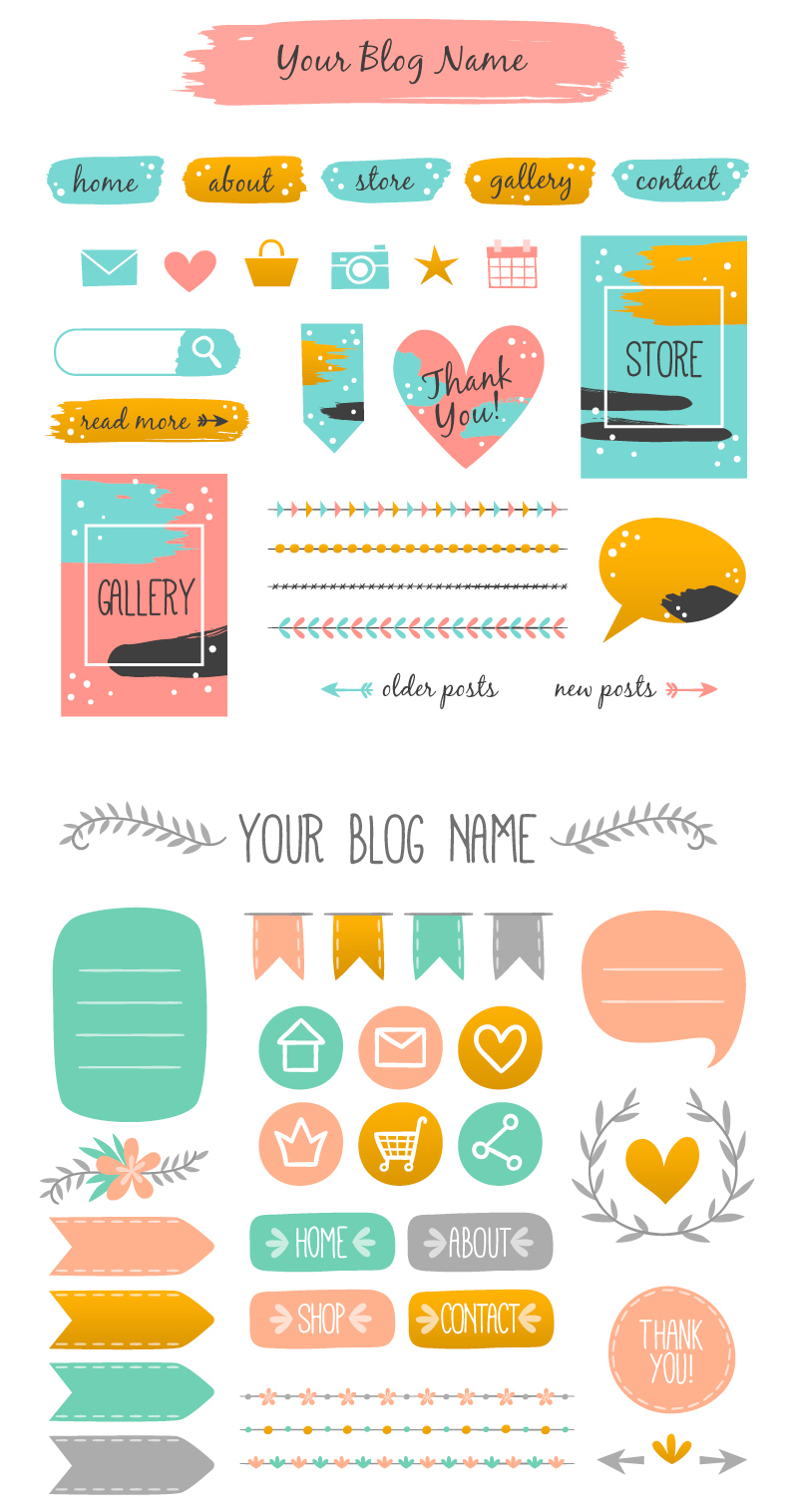 Web Design Elements for Blogs