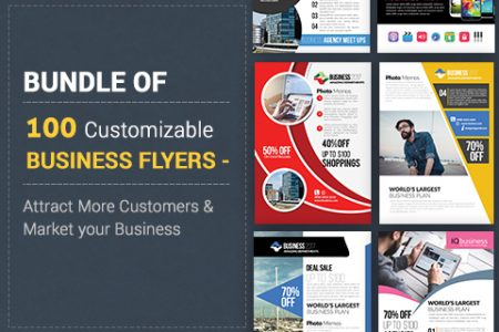 Business PSD -flyer-templates