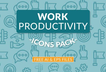Work Productivity Icons Pack - Freebie Deal