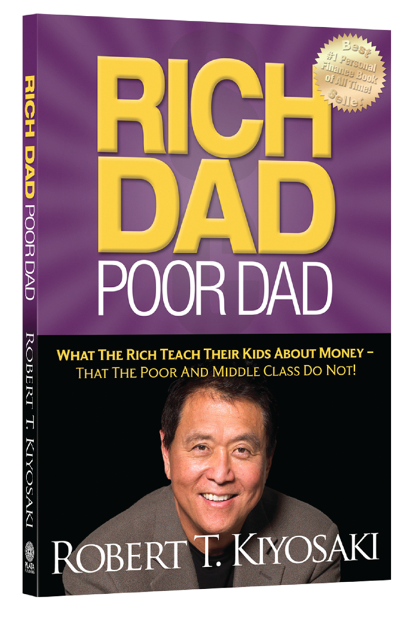 Robert kiyosaki rich dad poor dad book poster text robert.