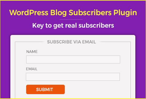 Real subscribers-plugin