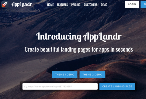 Landing Page Creator for Apps
