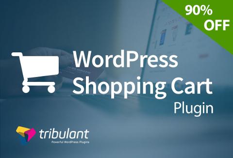 Shopping cart WordPress plugin