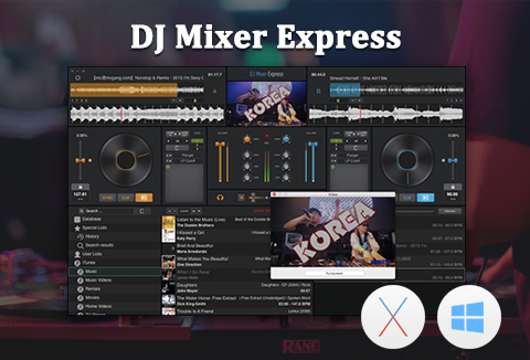 DJ Mixer Express Win & Mac