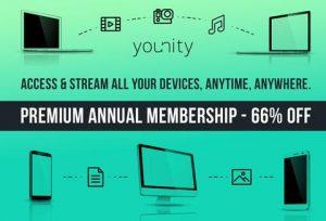 Younity Home Media Server