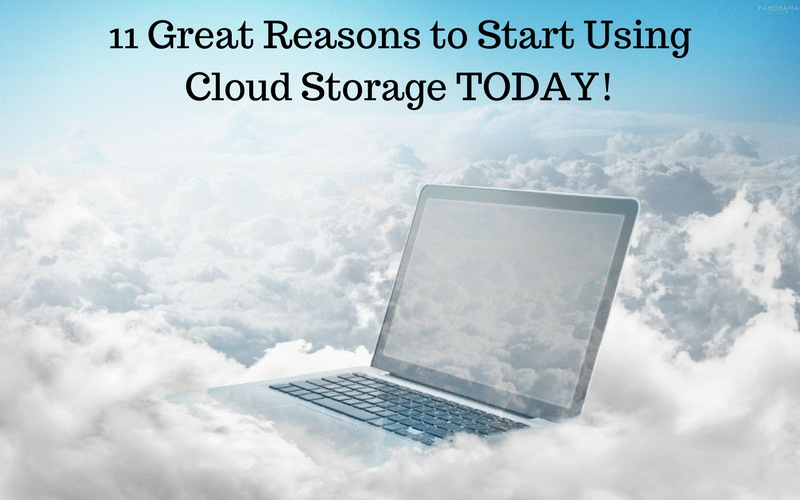 11 Great Reasons for Web Professionals to Start Using Cloud Storage TODAY!