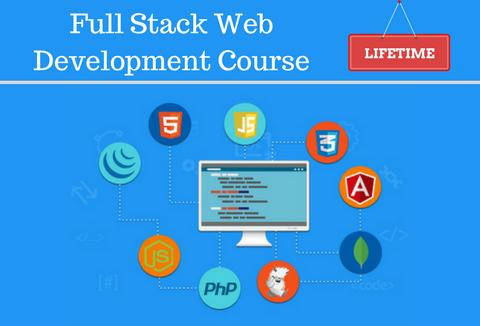 Full stack web development course