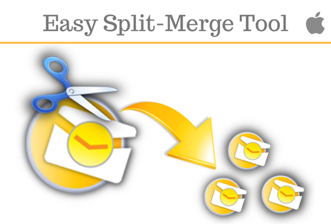 Split Merge PDF files