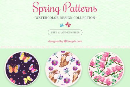 Spring Background Patterns