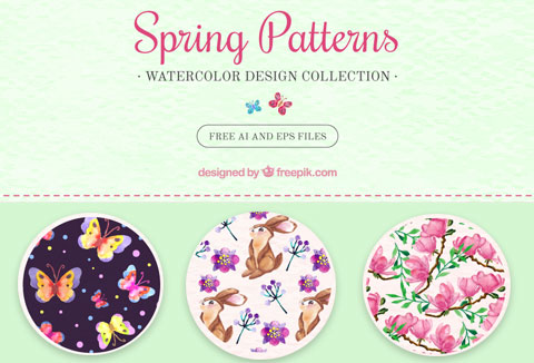 Spring Background Patterns
