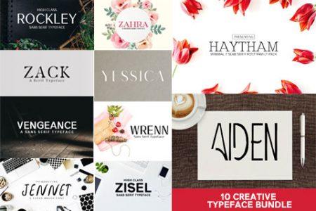 Beautiful Fonts Bundle