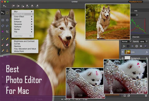 best photo editing software MAC