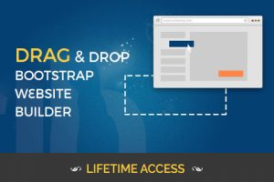 Drag-n-Drop Bootstrap Website Builder