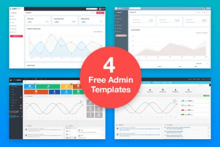 Free Admin Dashboard Templates