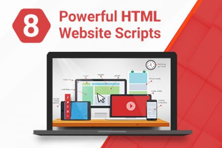 HTML website scripts