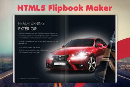 HTML5 Flipbook Maker