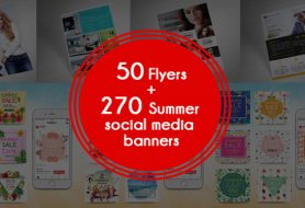 Social media banners & flyers
