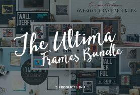 Ultima Frames Mockups Bundle