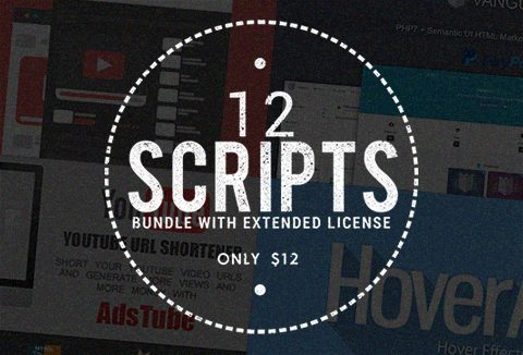 Website scripts with Commercial License