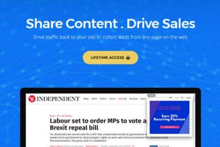 Linksgage Share Links