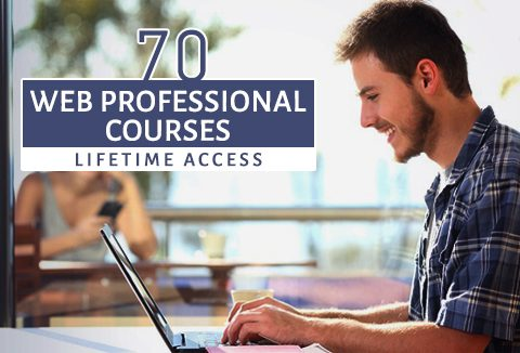 Lifetime Access to 70 Web Professional Courses Bundle