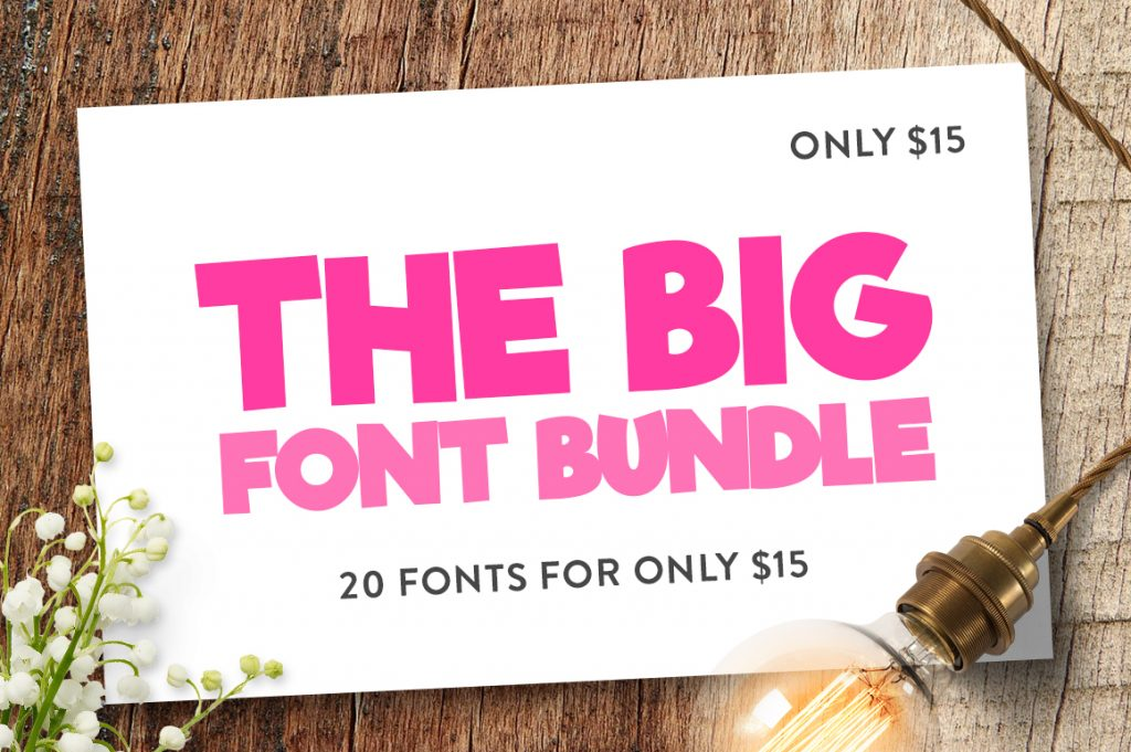 Funky Fonts Bundle