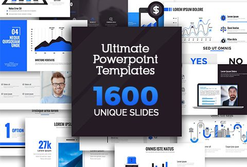 Ultimate powerpoint templates bundle with 1600 unique slides dealfuel ultimate powerpoint templates bundle toneelgroepblik Choice Image
