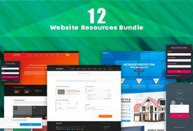 12 Website Resources Bundle Image